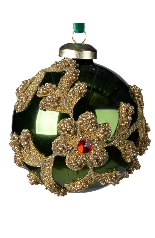 pallina-verde-con-decori-oro